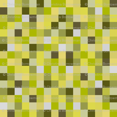 8-Bit Pixel Blocks - Yellow
