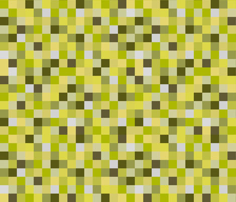 8-Bit Pixel Blocks - Yellow fabric by joyfulrose on Spoonflower - custom fabric