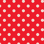 Happy Harvest - Dots Red