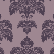 Winter house flock Purple