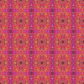 RHINOCEROS COORDINATE PINK ILLUSION GEOMETRIC MINI
