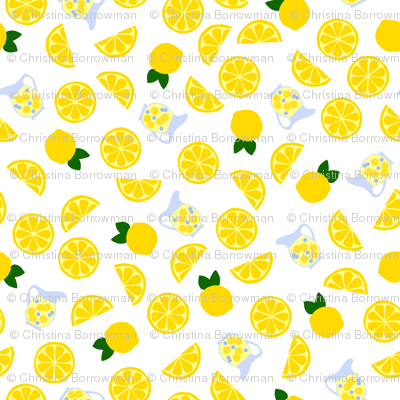 Freshly Squeezed Lemonade Tossed