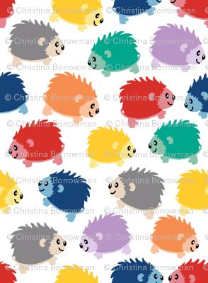 Happy Little Hedgehogs