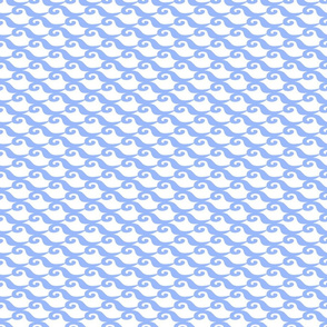 Ocean - Darker Blue Waves