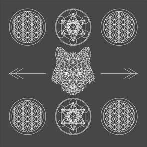 Sacred Geometry Fox
