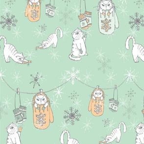 KITTENS_MITTENS___SNOWFLAKES