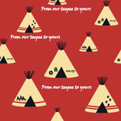 Our Teepee red earth