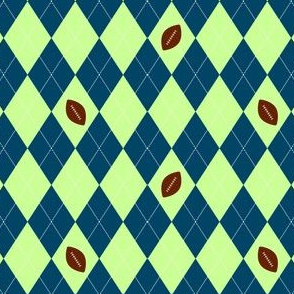 Seattle Football argyle