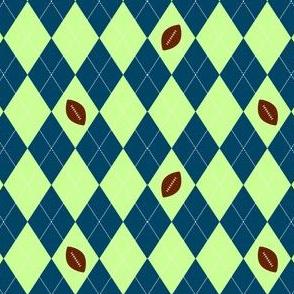 Seattle Football argyle
