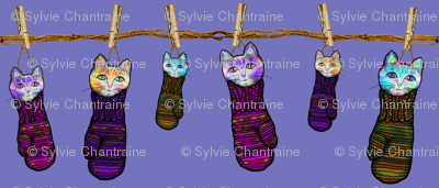 KITTENS IN MITTENS LAUNDRY Contest design