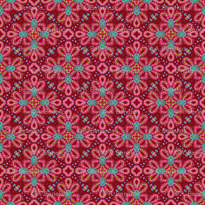 Tile Knot Revisited in Red