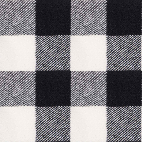 """2"""" Buffalo Check in Ebony fabric by willowlanetextiles on Spoonflower - custom fabric"""