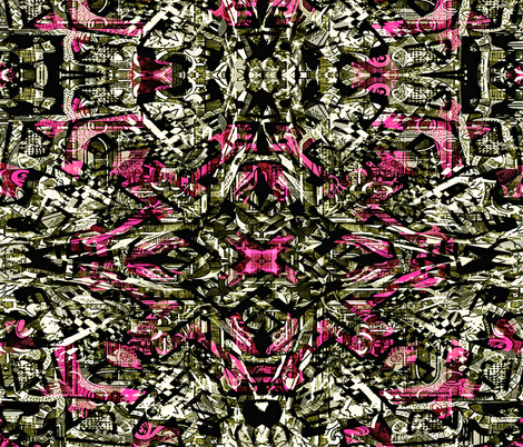 Gothic Girly Grunge fabric by whimzwhirled on Spoonflower - custom fabric