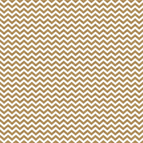 Gold Glitter Chevron- Small