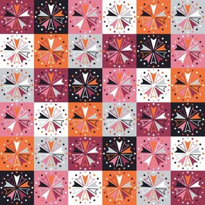Circus Squares - Autumn Rose