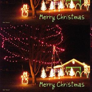 Outside Christmas Scenery