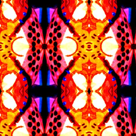 Wings II fabric by gothamwood on Spoonflower - custom fabric
