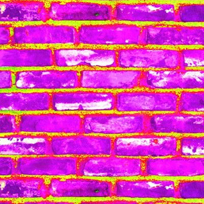 Magical Brick Road Purple n Lime