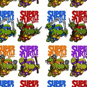 Super Turtle Bros Wallpaper