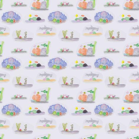 Everyday Aquarium fabric by arwenartanddesign on Spoonflower - custom fabric