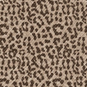 Snow Leopard scuffed coffee