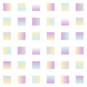 modern stars on white