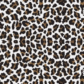 Sweet Leopard Sugar Sack Black/Brown/White