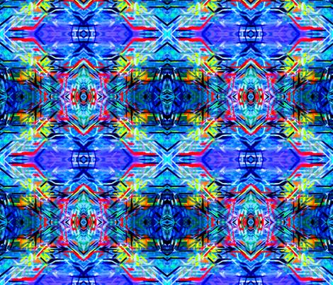 Tribal Kalidiscope fabric by hrhsf-designs on Spoonflower - custom fabric