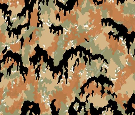 Buntfarbenaufdruck 45 / Leibermuster Faded fabric by ricraynor on Spoonflower - custom fabric
