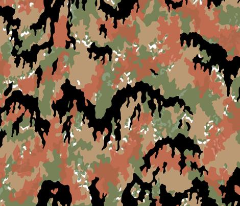 Buntfarbenaufdruck 45 / Leibermuster fabric by ricraynor on Spoonflower - custom fabric