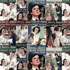 Cherry Ames Book Covers