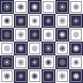 Snowflakes_and_Snowflakes Patchwork