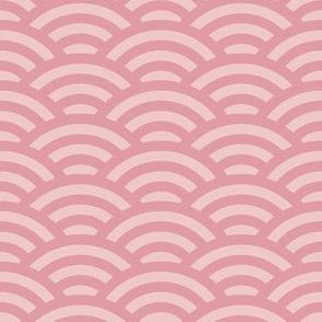 pale pink scallop