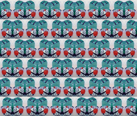 Dancing Toasters 2 fabric by toaster on Spoonflower - custom fabric