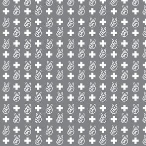 PeacePlus - Grey