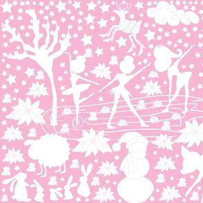 Pink Taffy Swirl Skaters' Soirée