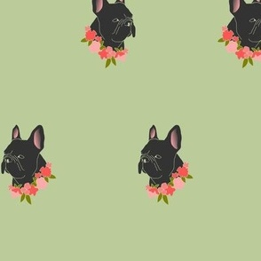 Floral Frenchie