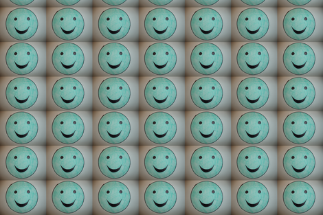 Smiley Face fabric by kssfabrics on Spoonflower - custom fabric
