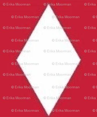 perfect diamond - red/white
