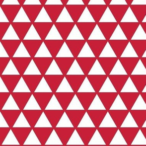 Triangles - red white