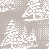 Winter_Time_Toile_on C3B7B2 Grey
