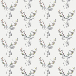 Hand Drawn Stag