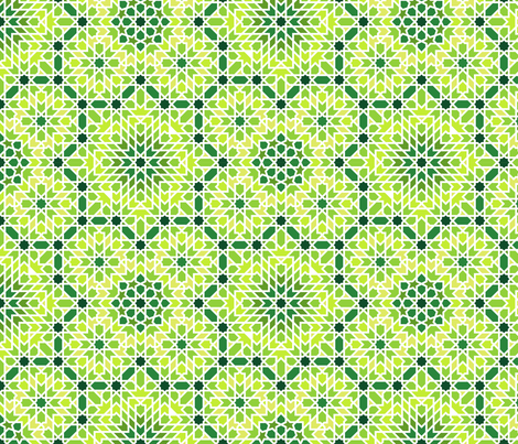 arabic_tiles_C3 fabric by analinea on Spoonflower - custom fabric