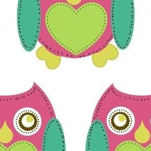 Lovely Owl - Berry