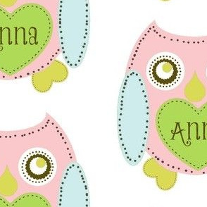 Lovely Owl - petal-personalized