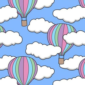 hot air balloons (soft)