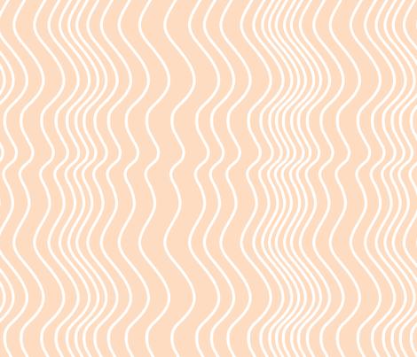 Stripe_on_Salmon_ fabric by house_of_heasman on Spoonflower - custom fabric