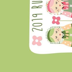2019 tea towel calendar - Russian dolls