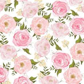Vintage Floral Girly Flowers
