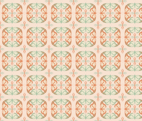 Flight Pattern fabric by terriaw on Spoonflower - custom fabric